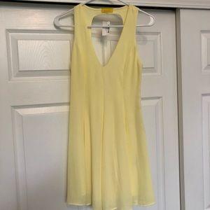 Dresses & Skirts - New pale yellow romper dress